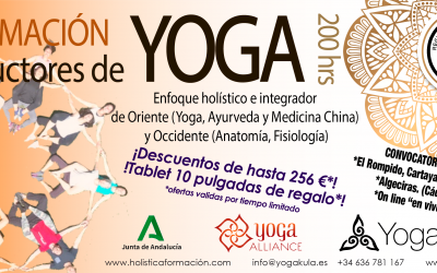 FORMACIÓN Instructores de YOGA 200 hrs 2020-2021
