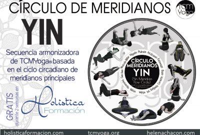 círculo de meridianos yin