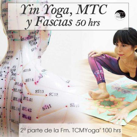 Yin Yoga, MTC y Fascias 50 hrs