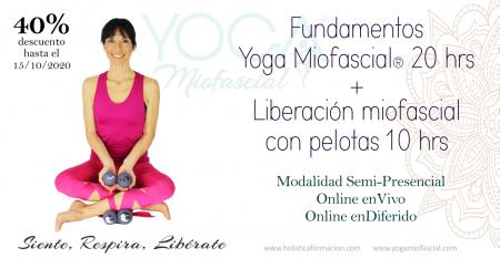 yoga miofascial con pelotas