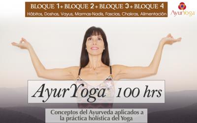 Formación en AyurYoga® 100 hrs (Bloques 1+2+3+4)