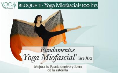 Fundamentos Yoga Miofascial® 20 hrs (Bloque 1-Fm.Yoga Miofascial®)