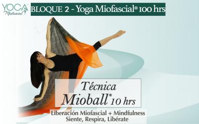 Técnica Mioball® 10 hrs (Bloque 2 – Fm.Yoga Miofascial®)