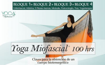 Formación Yoga Miofascial® 100 hrs (Bloques 1+2+3+4)