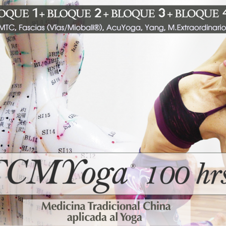 Formación en TCMYoga® 100 hrs (Bloques 1+2+3+4)