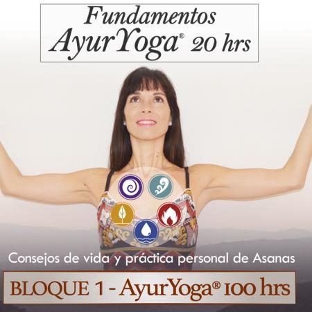 Fundamentos AyurYoga® 20 hrs (Bloque 1 – Fm. AyurYoga®)