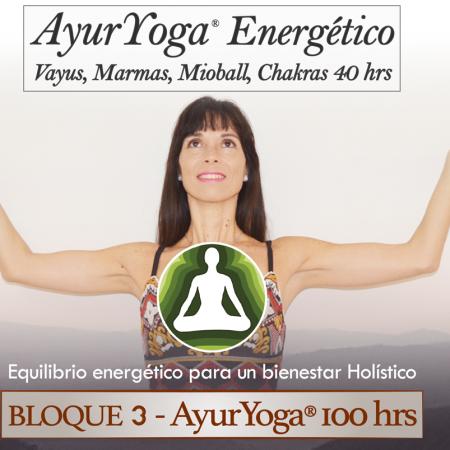 AyurYoga Energético 40 hrs (Bloque 3 – Fm. AyurYoga®)