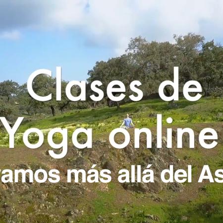 """Clases de Yoga on line """"Vayamos más allá del Asana"""""""