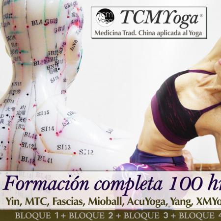 TCMYOGA®100 hrs (Yin, AcuYoga, Mioball, Yang, XMYoga)