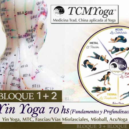 Formación Yin Yoga 70 hrs