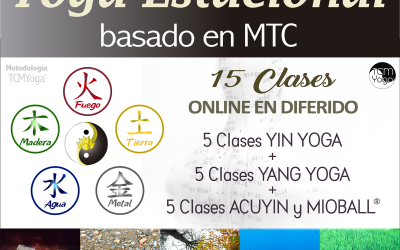 YOGA ESTACIONAL BASADO EN MTC. Ciclo de 15 clases de 90 min