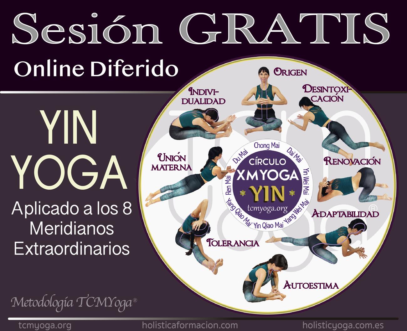 sesión gratis círculo meridianos Yin XMYoga
